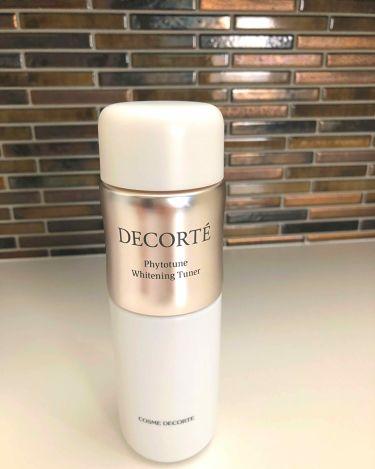 フィトチューン ホワイトニング チューナー/COSME  DECORTE/化粧水を使ったクチコミ(1枚目)