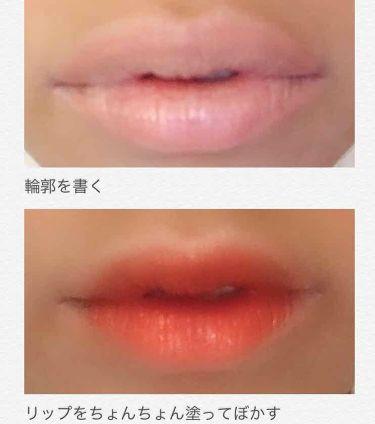 VELVET CREAM LIP & PENCIL/3CE/口紅を使ったクチコミ(4枚目)