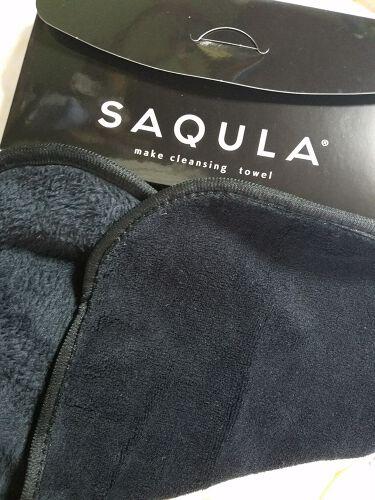 SAQULAクレンジングタオル/SAQULA/その他スキンケアグッズを使ったクチコミ(1枚目)