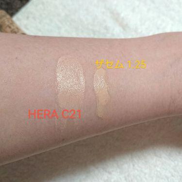 UVミストクッション/HERA/日焼け止め(顔用)を使ったクチコミ(4枚目)