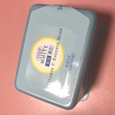 エッセンスマスク (ビタミンC)/クリアターン/シートマスク・パックを使ったクチコミ(1枚目)