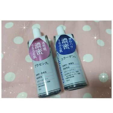 D濃密美容液 プラセンタ/DAISO/美容液を使ったクチコミ(1枚目)