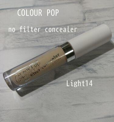 no filter concealer/ColourPop/コンシーラー by ゆず@マッマ