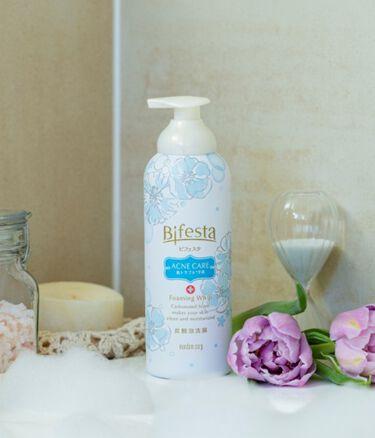 泡洗顔 コントロールケア/ビフェスタ/洗顔フォームを使ったクチコミ(1枚目)