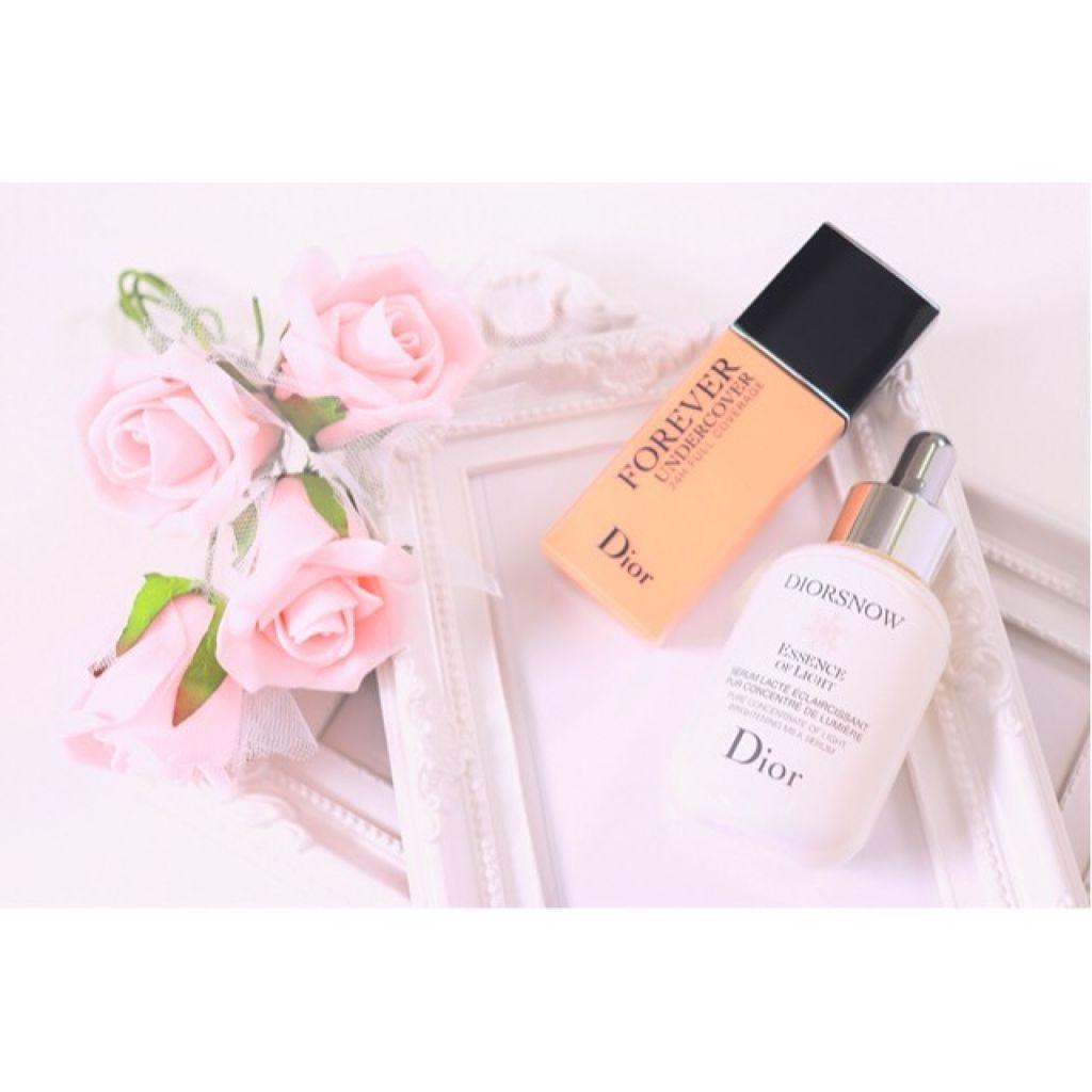 Diorから新美白美容液と落ちないファンデーションが発売✨