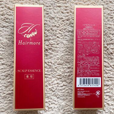 薬用ヘアモア-Hairmore-スカルプケアエッセンス/ヘアモア/頭皮ケアを使ったクチコミ(2枚目)