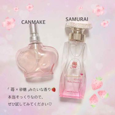 サムライウーマンドルチェストロベリー/サムライウーマン/香水(レディース)を使ったクチコミ(2枚目)