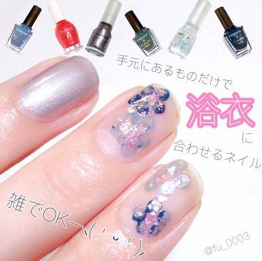 カラフルネイルズ/キャンメイク/マニキュア by ふうか