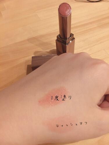 【画像付きクチコミ】LUNASOLフルグラマーリップス35PinkBeige3.8g可愛いいです。淡いPINK的な?(ˊᗜˋ)。1度塗りがとてもかわいい!!!!リップをつけるとテンション上がります!塗り心地もよく気に入っています♡♡♡♡最近はマスク生活な...