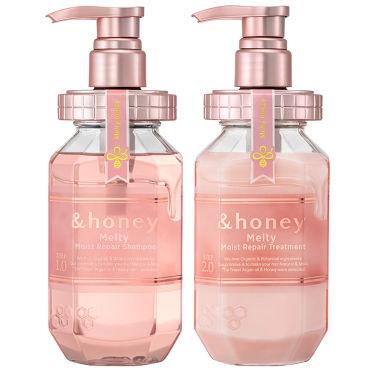 &honey &honey Melty モイストリペア シャンプー1.0/モイストリペア ヘアトリートメント2.0
