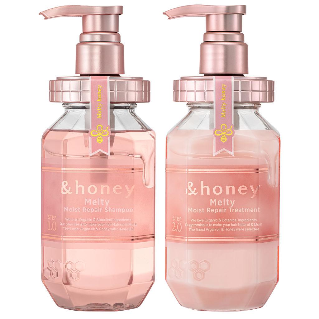 &honey Melty モイストリペア シャンプー1.0/モイストリペア ヘアトリートメント2.0 &honey