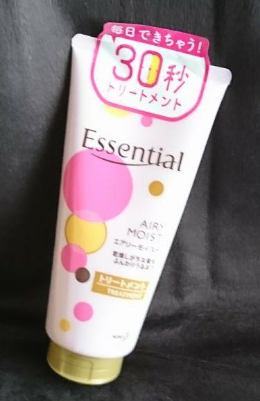 Yuikaさんの「エッセンシャルエアリーモイスト トリートメント<ヘアパック・トリートメント>」を含むクチコミ