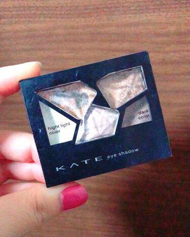 よーこさんの「ケイトカラーシャスダイヤモンド<パウダーアイシャドウ>」を含むクチコミ