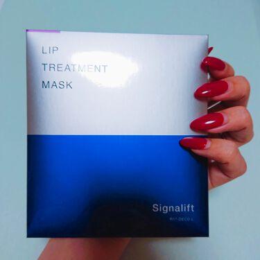 リップトリートメントマスク/Signalift/リップケア・リップクリームを使ったクチコミ(2枚目)