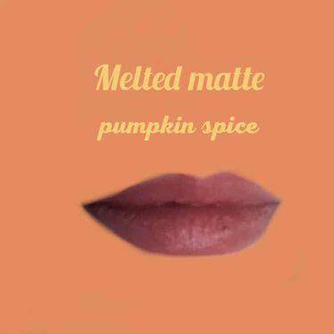 メルテッド リキッド マット ロングウェア リップスティック パンプキン スパイス/Too Faced/口紅を使ったクチコミ(5枚目)