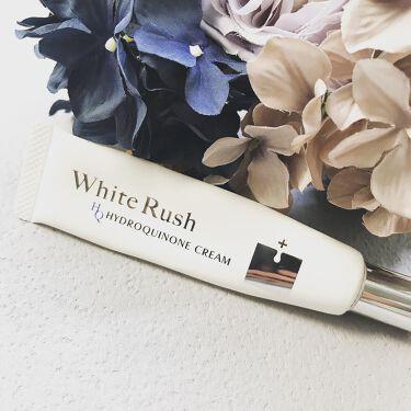 HQクリーム/White Rush/フェイスクリームを使ったクチコミ(1枚目)