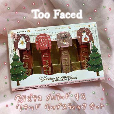 クリスマス メルテッド キス リキッド リップスティック セット/Too Faced/口紅を使ったクチコミ(1枚目)