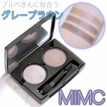 ビオモイスチュアシャドー/MiMC/パウダーアイシャドウ by ふうか