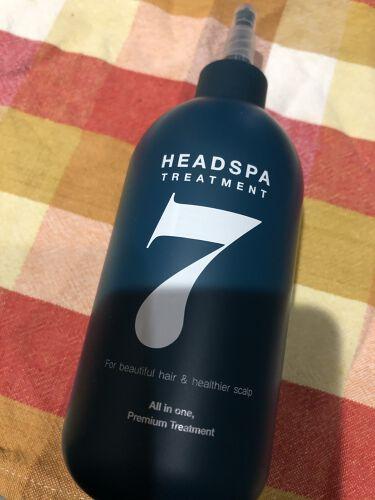 【画像付きクチコミ】おうちで毎日、7秒ヘッドスパができるヘッドスパ7トリートメント髪がゴワゴワで傷みが気になっています。そんなときに出会ったのがヘッドスパ7トリートメントシャンプーした後の濡れた髪に使います。とろみのある無色透明の美容液がクリームに変化。...