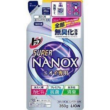 トップ スーパーNANOX ニオイ専用 つめかえ用