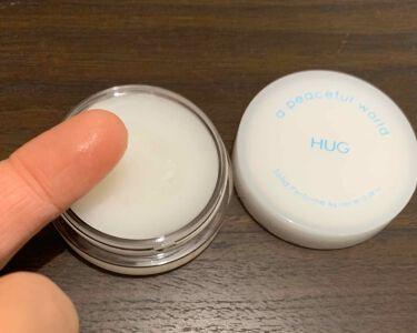 HUG ソリッドパフューム/a peaceful world/香水(レディース)を使ったクチコミ(2枚目)