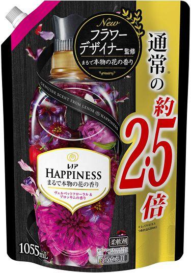 レノアハピネス ヴェルベットフローラル&ブロッサムの香り つめかえ1055ml