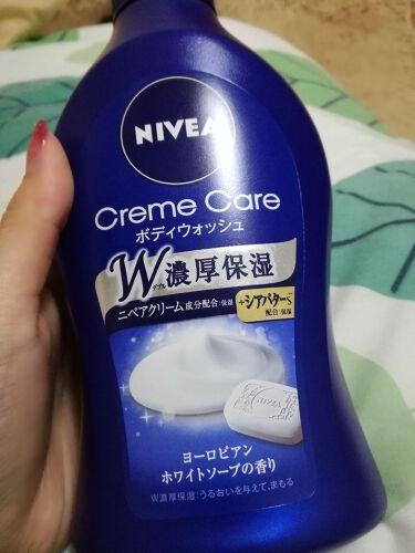 @-chanさんの「ニベアニベア クリームケア ボディウォッシュ ヨーロピアンホワイトソープの香り<ボディソープ>」を含むクチコミ