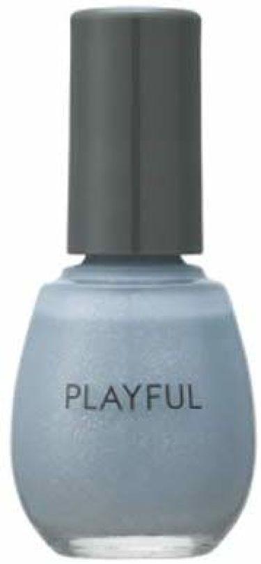 プレイフル アップデートネイル pun-07 アイスブルー