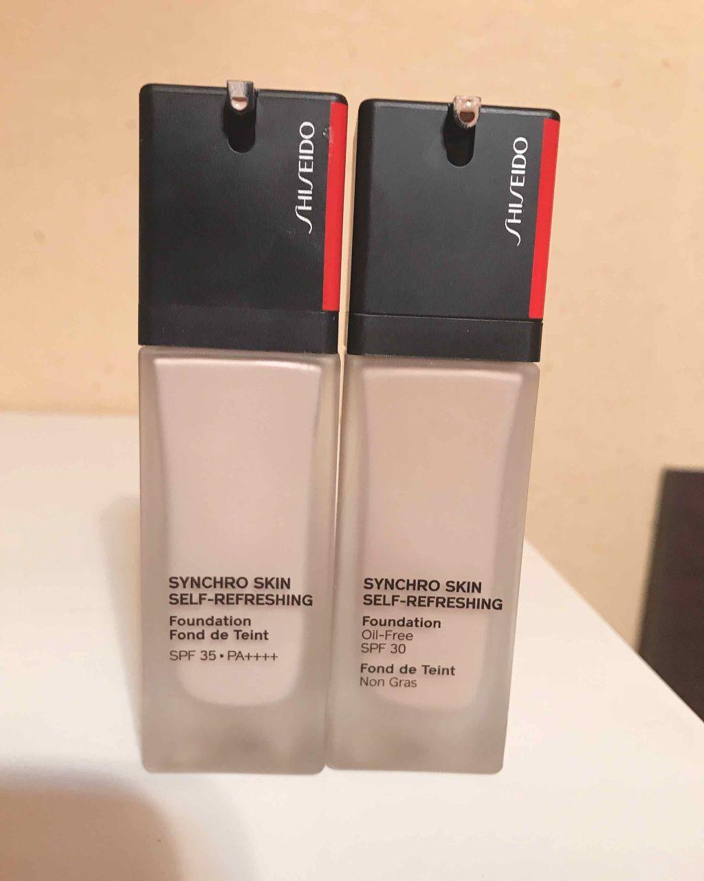 shiseido シンクロ スキン セルフ リフレッシング ファンデーション