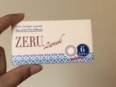 2week ZERU Natural/ZERU/カラーコンタクトレンズを使ったクチコミ(1枚目)