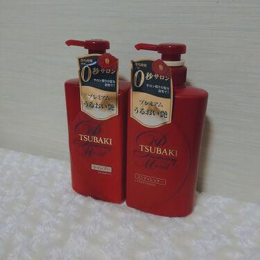 プレミアムモイスト シャンプー/ヘアコンディショナー/TSUBAKI/シャンプー・コンディショナーを使ったクチコミ(1枚目)