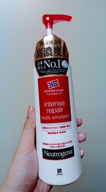 ノルウェーフォーミュラ ボディ エマルジョン/Neutrogena/ボディローション・ミルクを使ったクチコミ(1枚目)