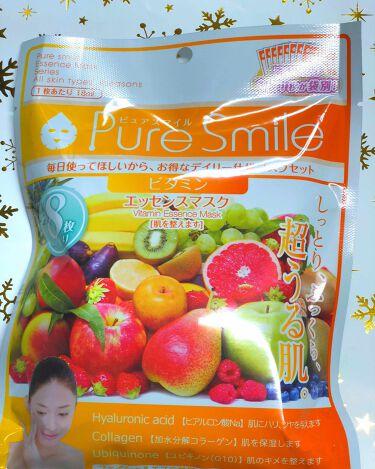 Pure Smile(ピュアスマイル) エッセンスマスク 毎日マスク8枚セット アロエ