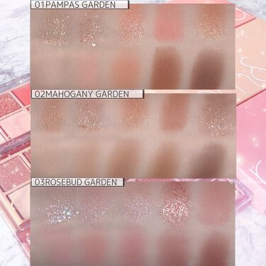 ベターザンパレット/rom&nd/パウダーアイシャドウを使ったクチコミ(10枚目)