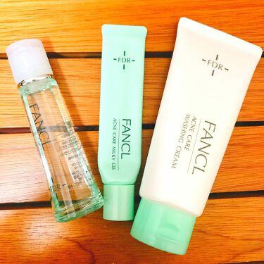 yuuさんの「ファンケルFDR アクネケア 化粧液<化粧水>」を含むクチコミ