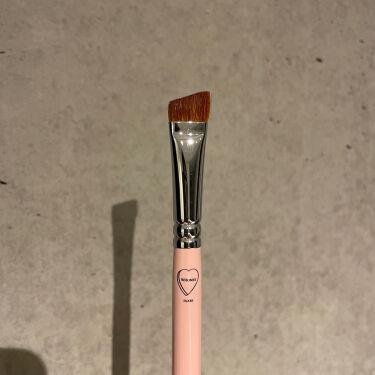アイブロウブラシ 熊野筆/WHOMEE/メイクブラシを使ったクチコミ(1枚目)