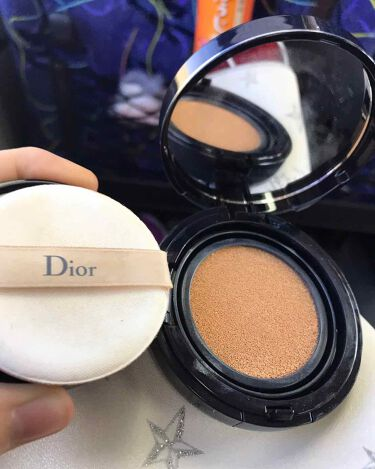 ディオールスキン フォーエヴァー クッション/Dior/その他ファンデーションを使ったクチコミ(2枚目)