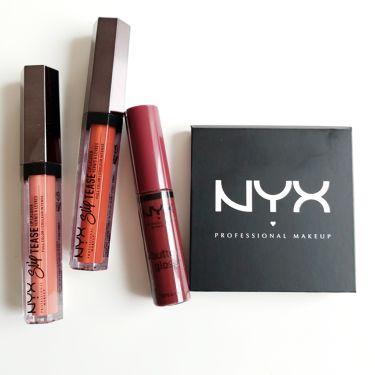 あ み ( ・ ´`(●)💕さんの「NYX Professional Makeupバターグロス<リップグロス>」を含むクチコミ