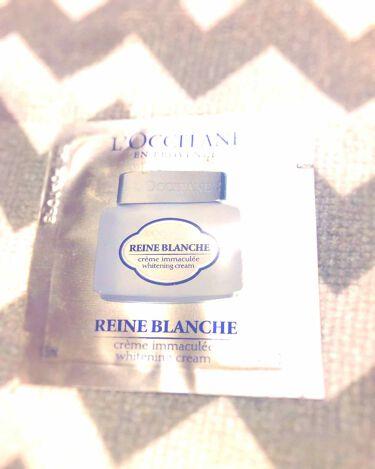 レーヌブランシュ ブライトフェースウォーター/L'OCCITANE/化粧水を使ったクチコミ(2枚目)