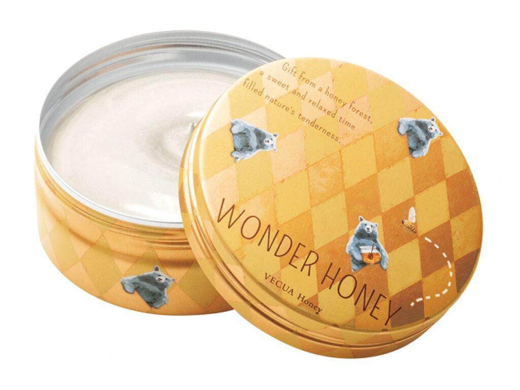 ワンダーハニー 濃蜜マルシェのクリームバーム VECUA Honey
