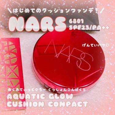 ♡てんしちゃん♡さんの「NARSアクアティックグロー クッションコンパクト<その他ファンデーション>」を含むクチコミ