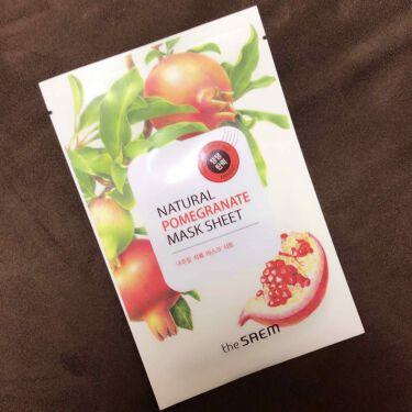 the SAEM(ザセム/韓国) Natural Pomegranate Mask Sheet