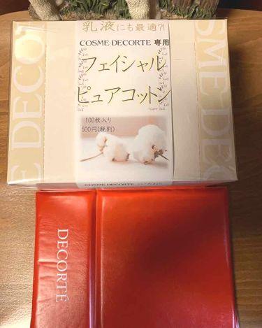 フェイシャル ピュア コットン/COSME  DECORTE/コットンを使ったクチコミ(2枚目)