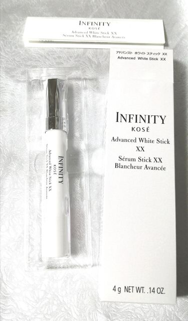 インフィニティ アドバンスト ホワイトスティック XX/コーセー/美容液を使ったクチコミ(1枚目)
