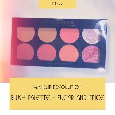 "MAKEUP REVOLUTION(メイクアップレボリューション)/アイラブメイクアップ Blush palette ""SUGAR & SPICE"""