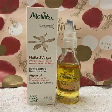 ビオオイル アルガンオイル ローズ/Melvita/ブースター・導入液を使ったクチコミ(1枚目)