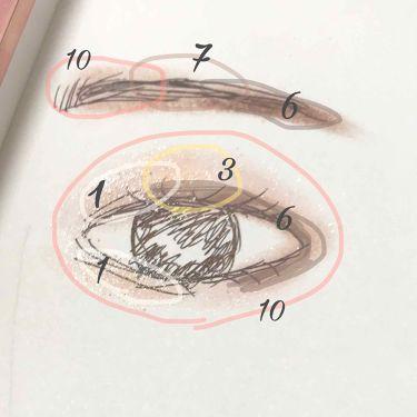 バレンタインボックス2ピーチパレット/VAVI MELLO(バビメロ)/パウダーアイシャドウを使ったクチコミ(3枚目)