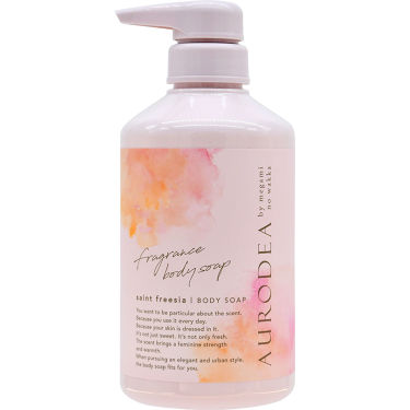 AURODEA by megami no wakka fragrance body soap セイントフリージア