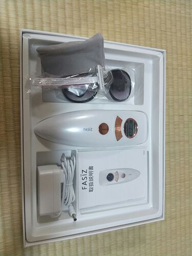 FASIZ607C IPL光脱毛器/FASIZ/ボディケア美容家電を使ったクチコミ(2枚目)