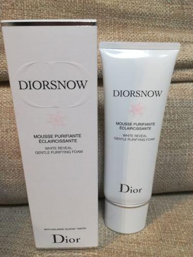 Dior SNOW ホワイト フォーム/ノーブランド/洗顔フォームを使ったクチコミ(1枚目)